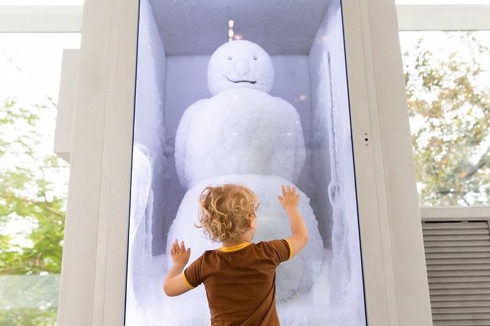 goma water snowman
