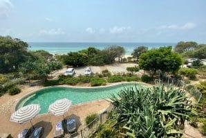 View from apartment at Stradbroke Island Beach Hotel