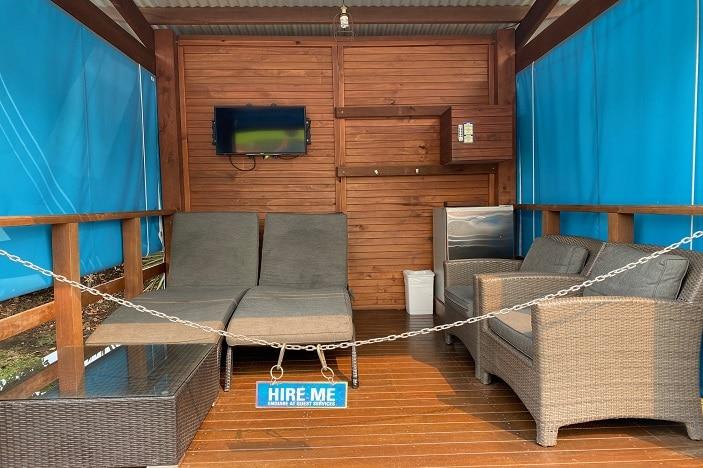 Cabana at WhiteWater World