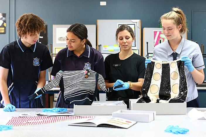 Museum of Brisbane investigating students