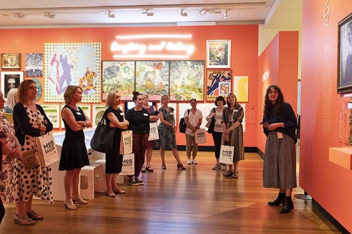 Museum of Brisbane teachers preview tour