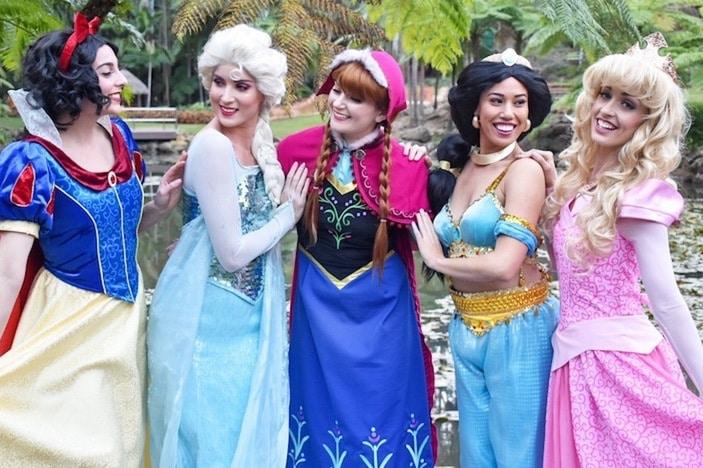 My Royal Party, princesses group
