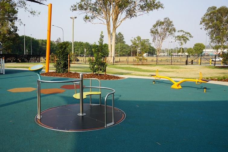wheelchair friendly playground brisbane northside