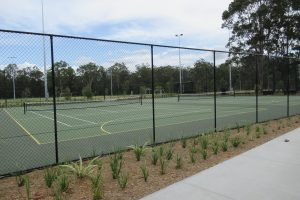 Tennis courts @ The Green, Carseldine