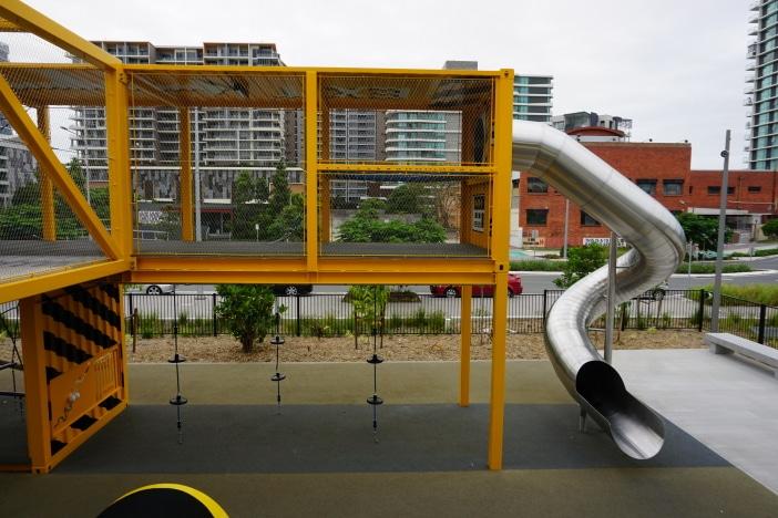 hercules steet park mega slide