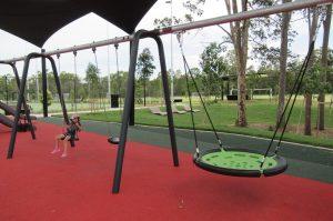 swings in a carseldine park