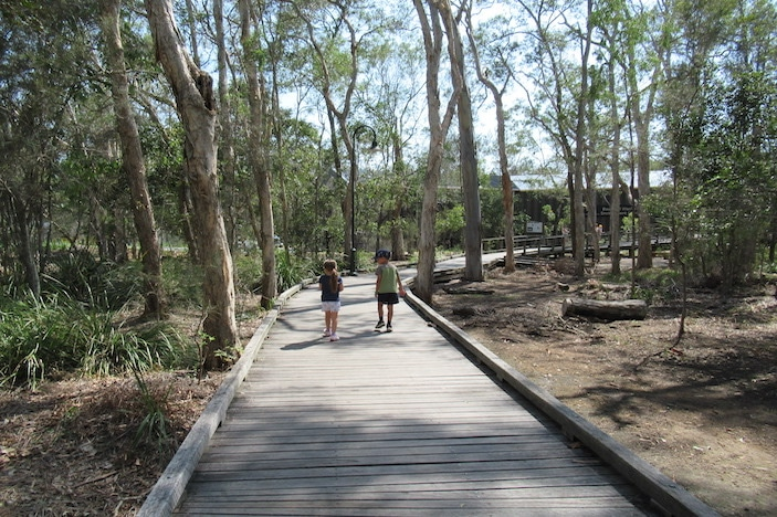 Boondall Wetlands - Boardwalk Entrance
