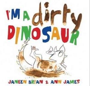 dirty dinosaur book cover