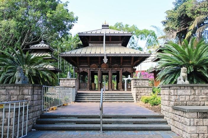 pagoda at southbank