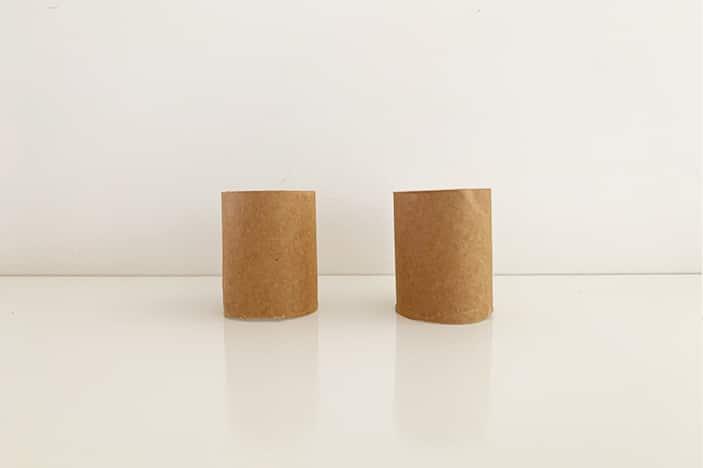 paper rolls cut