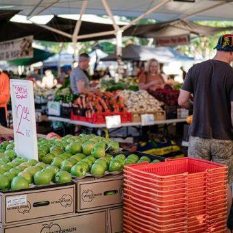Brisbane Markets, fresh fruit and veg