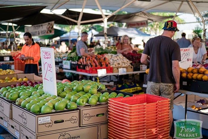 Brisbane Markets, fresh fruit and veg