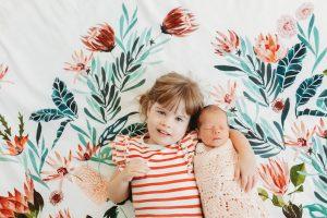 kids on doona cover photo