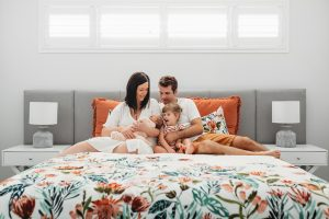 new parents getting photoshoot