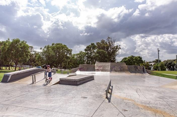 wynnum skate park