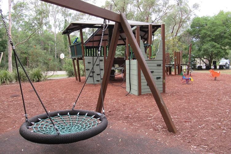 net swing in the raven street reserve