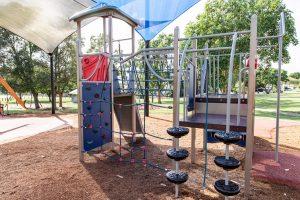 playground fort at wynnum