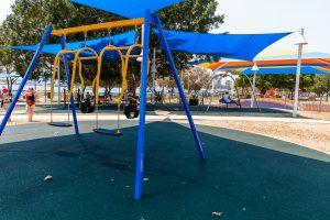 shaded swings, broadwater paklands