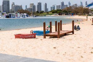 beach outlook and aqua park