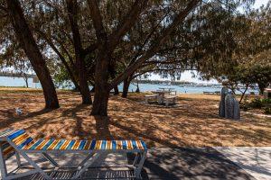 shady beach area gold coast