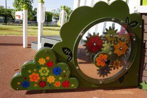 flower playground equipment