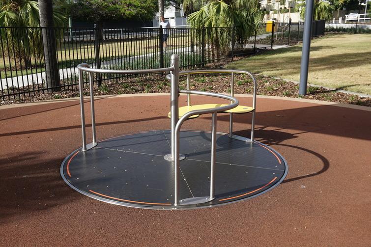spinner in playground