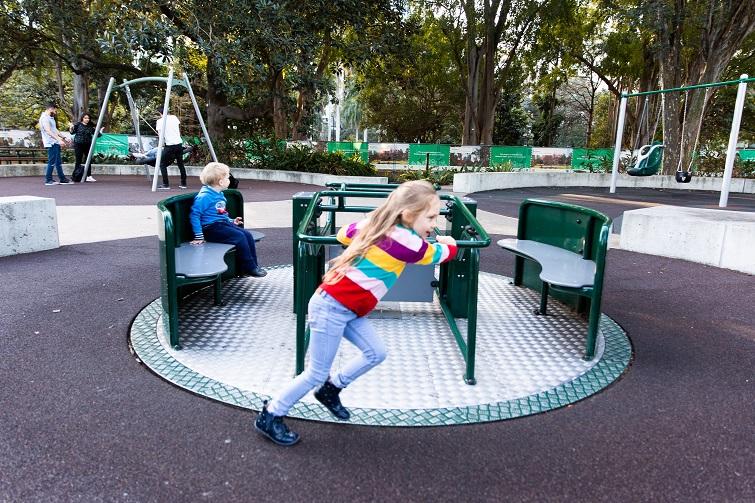 spinner playground equipment