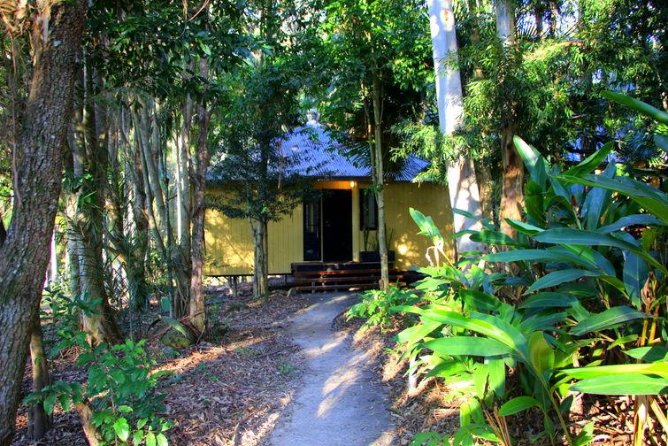Exterior of Creek Lodge at Cedar Creek Lodges