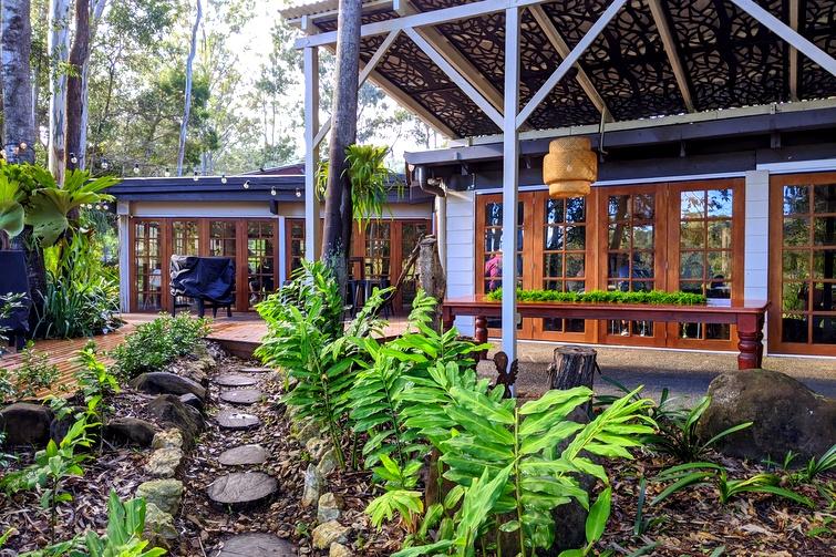 Rainforest Restaurant in Mount Tamborine