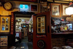 Bar area at Fox & Hounds Country Inn