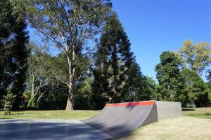 ashgrove skatepark halfpipe