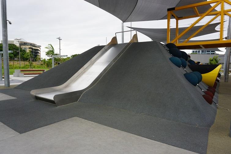 smaller slide at hercules park