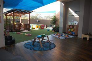 childcare centre outdoor area Avenues ELC Norman Park