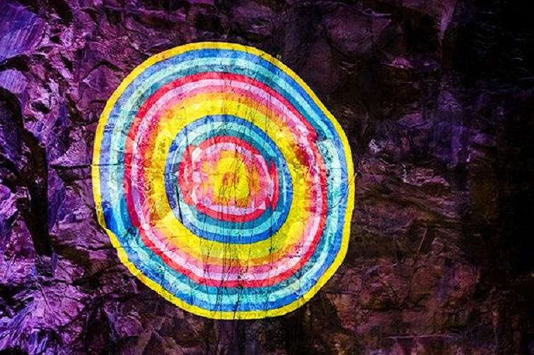 outdoor projections Razzle Dazzle outdoor gallery howard smith wharves