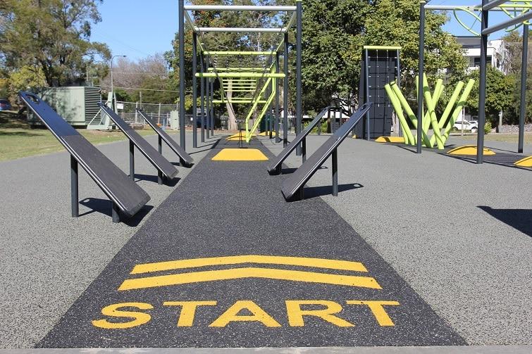 ninja warrior playground