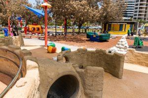 sand tunnel playground