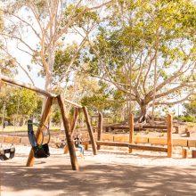Logan Gardens range of swings