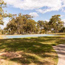 Logan Gardens basketball court