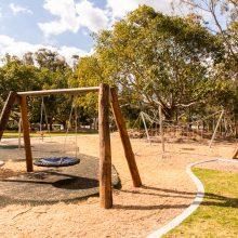 Logan Gardens net swing
