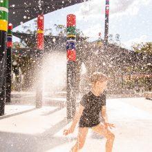 Logan Gardens water play