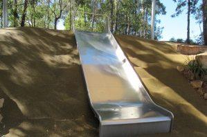 hill slide, naranga, stone ridge playground