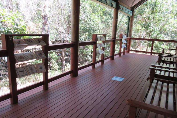 Osprey House verandah