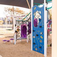 Pengana Playground climbing wall