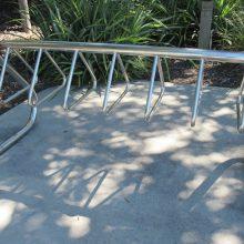 Redcliffe lagoon_Bike rack