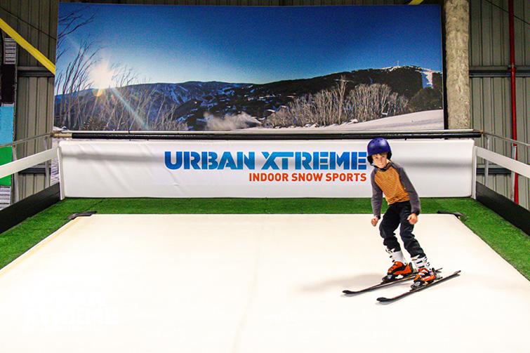 Urban Xtreme skiing 2
