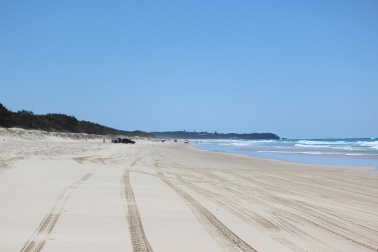 beach driving stradbroke