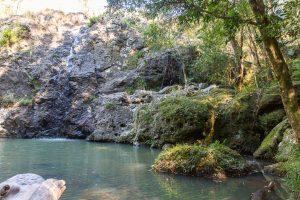 Cilento Park bushwalk swimming hole