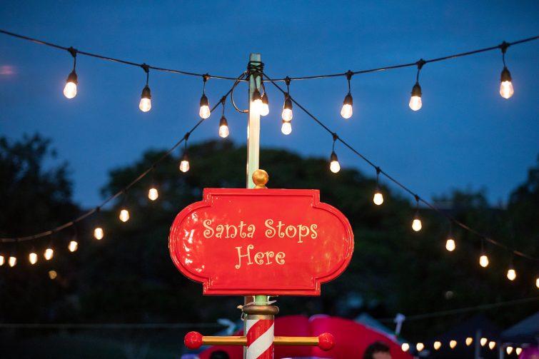 Santa stops here Caboolture Christmas Carols