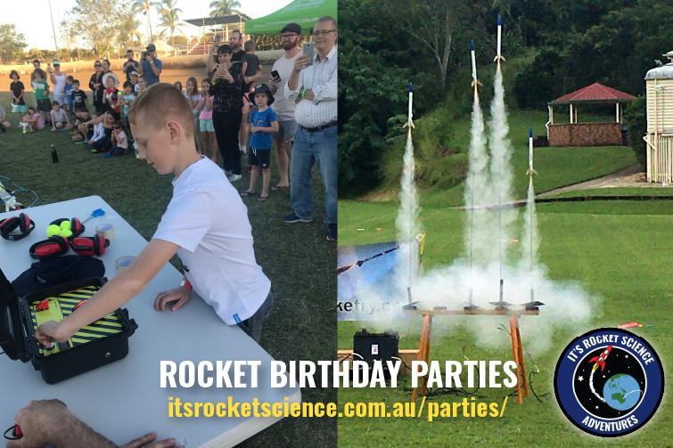 Rocket Birthday Parties with It's Rocket Science Adventures
