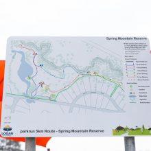 spring mountain reserve park run map